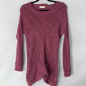 Pink Rose Orchard Knit Sweater